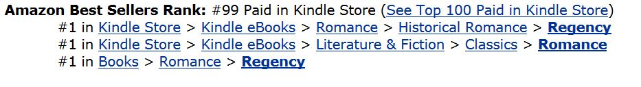The Unsellable Book is in the top 100 and 1 in all categories.