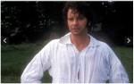 Mr. Darcy, slightly damp