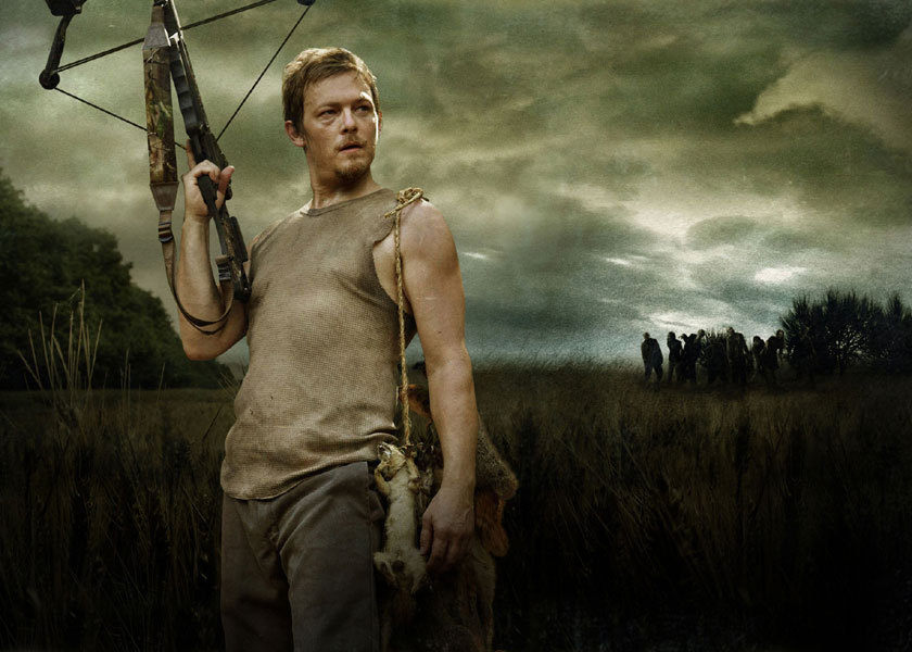 Daryl Dixon, season 1 promotional download via amctv.com