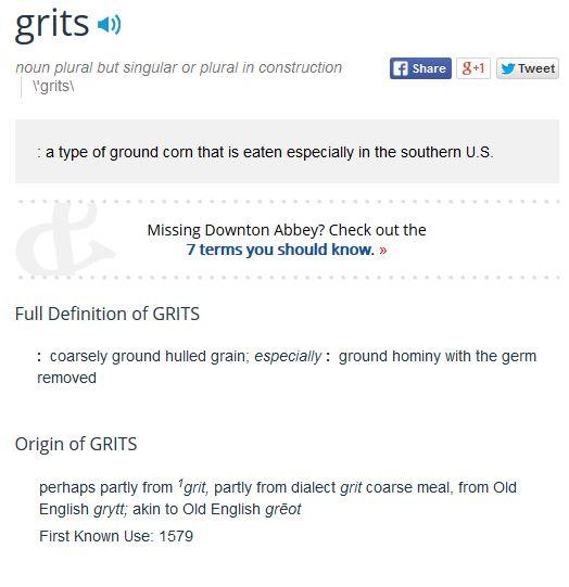 MW Grits