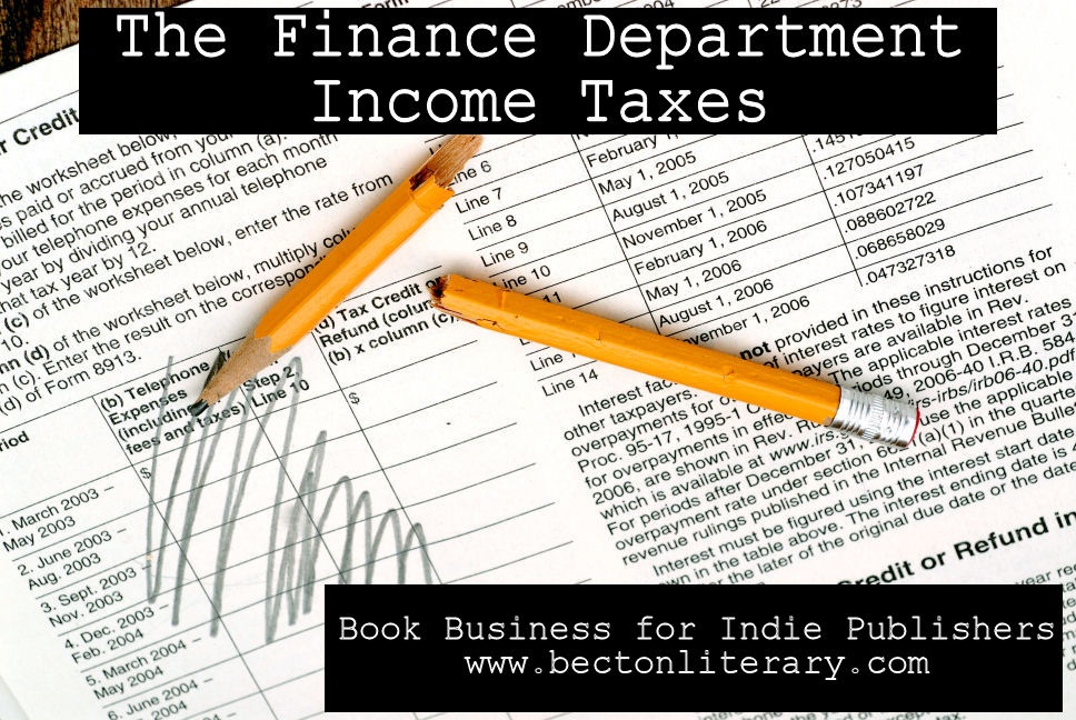 The Finance Department: Federal Income Taxes (Part 2